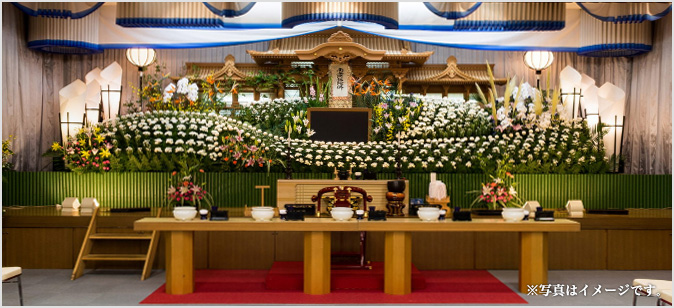 祭壇大ホールイメージ
